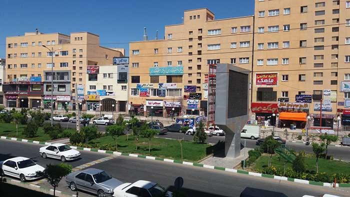 شهر پرند، در جنوب غربی پایتخت